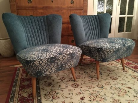 Retro türkiz fotel