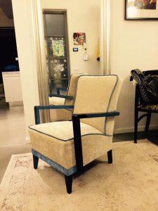Fehér fotel
