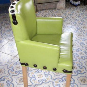 Ebédlő székek és bükkfa asztal 01