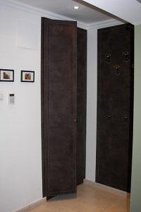 Kárpitozott előszoba fal és szekrényajtó 01