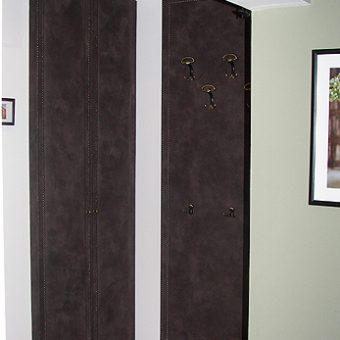 Kárpitozott előszoba fal és szekrényajtó 02