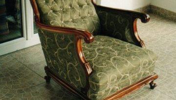 Neobarokk fotel 01