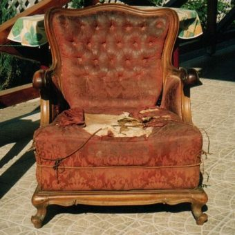 Neobarokk fotel 02