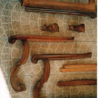 Neobarokk fotel 03