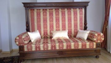 Eklektikus kanapé