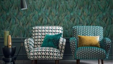 Armchairs in style in english